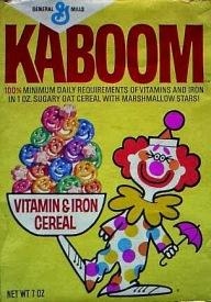 Kaboom Cereal