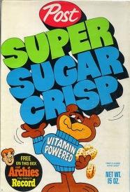 Super Sugar Crisp Cereal