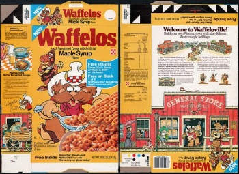 Waffelos Cereal