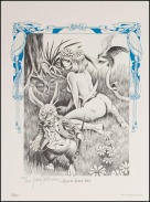 Alice in Wonderland Frank Brunner Plate 1