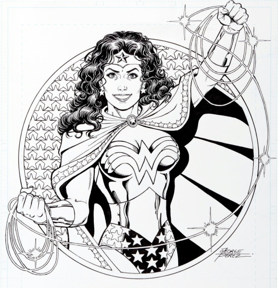 Wonder Woman George Perez