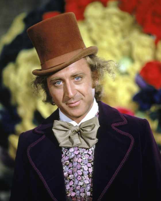 Actor Gene Wilder as Willy Wonka