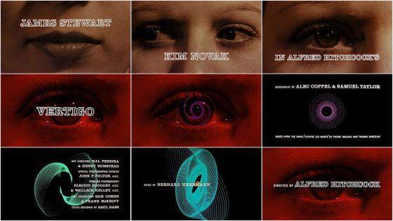 Vertigo Title Sequence (1958) - Saul Bass