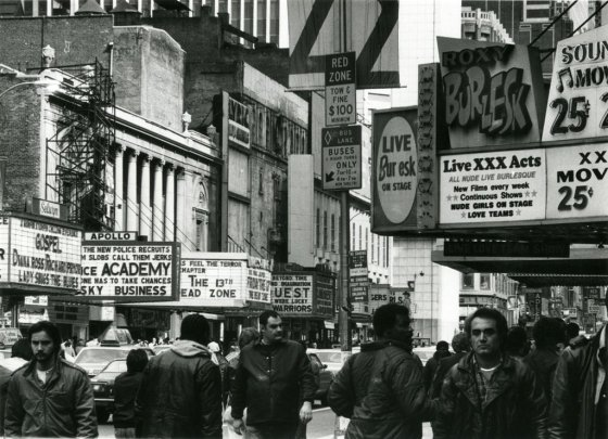 Times Square Grindhouse Theaters