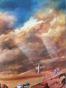 Plate XXXIII. A dust storm on Mars