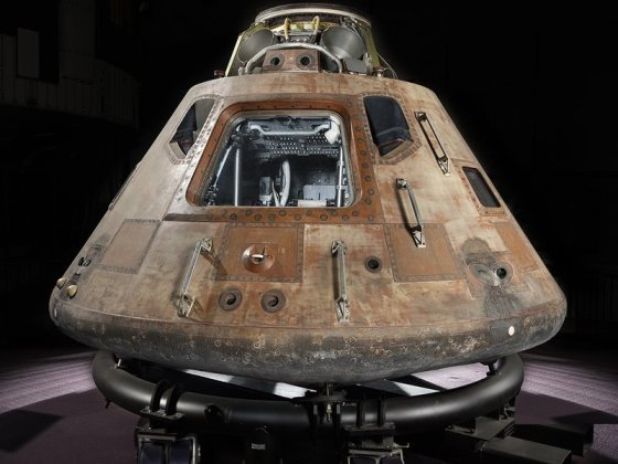 After orbiting the moon, Columbia made a nationwide tour that ended in 1971 when the command module came to the Smithsonian Institution in Washington D.C. (NASM)