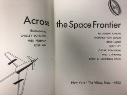 Across the Space Frontier (1952)