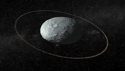Surprise Dwarf Planet Haumea Has A Ring Stepping