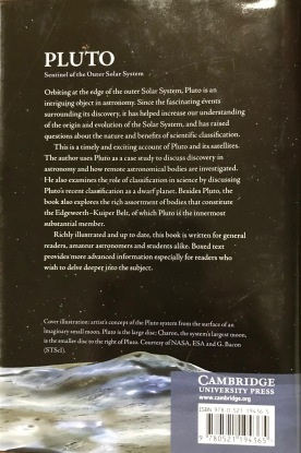 Pluto: Sentinel of the Outer Solar System | Barrie W. Jones | Cambridge University Press (2010) Back